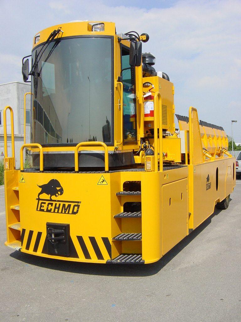Pallet Transporter Easy Truck Front
